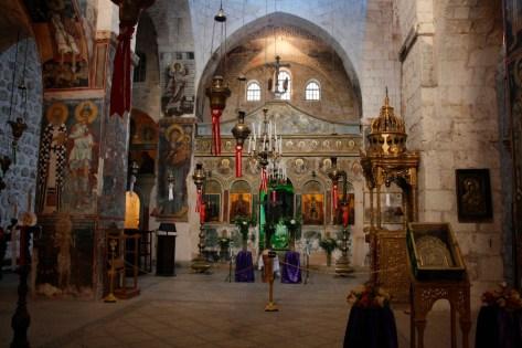 The Monastery of the Cross Church in Jerusalem. Photo: Yosarian/Wikimedia Commons.