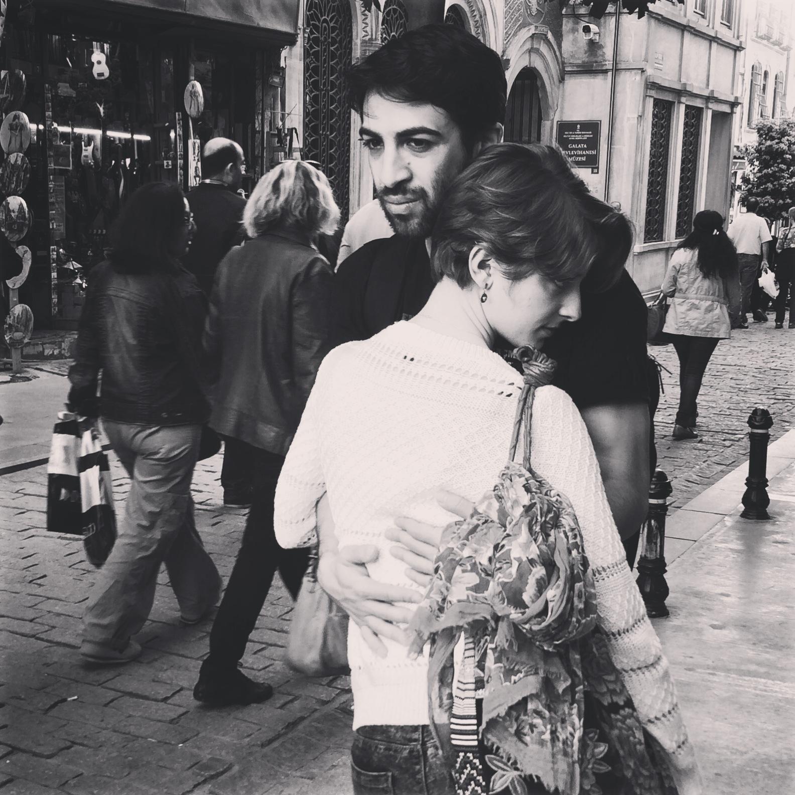 Liebespaar in Istanbul