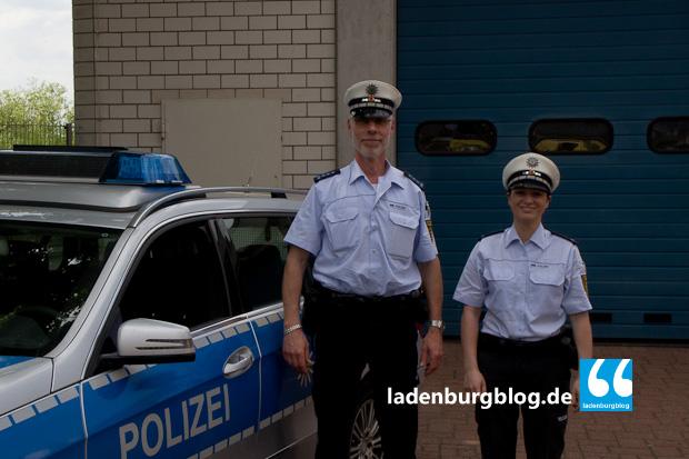 Vielleicht arbeitet Sabrina Daum bald als Beamtin in Ladenburg. Die Zusammenarbeit mit den Kolleg/innen vor Ort gefällt ihr jedenfalls richtig gut.