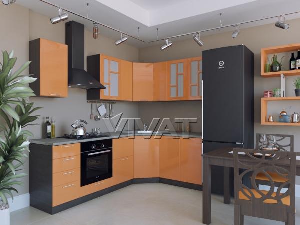 Техно-02 Оранжевый металлик