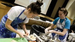 Students competed in the UPC Top Chef competition on Friday, Nov. 2.