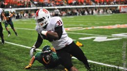 Xavier Finney, 31, had 16 carries for 49 yards and 2 touchdowns.