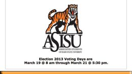 ASISU Vote Reminder