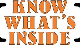 Know What's Inside