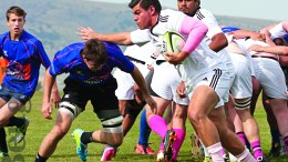 Men's Rugby hosts several home matches played at Bartz Field each season.