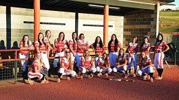 The 2015 Bengal women's  softball team.
