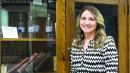 Pharmacy student Sabrina Sherwood will travel to Minnesota in May to begin her internship at the Mayo Clinic.