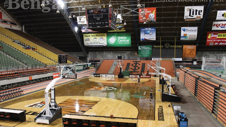 ISU men's basketball court
