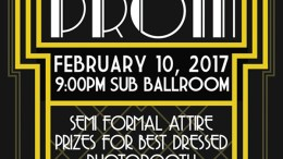 Second chance prom poster