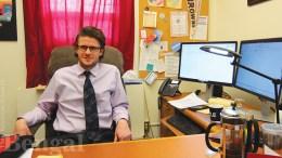 ISU Professor Shane Gleason
