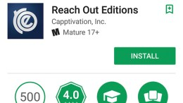 Screenshot of Reach Out Editions by Capptivation, Inc.