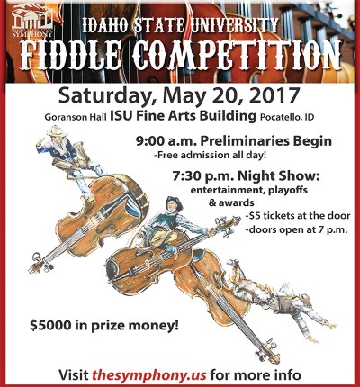 Fiddle competition poster