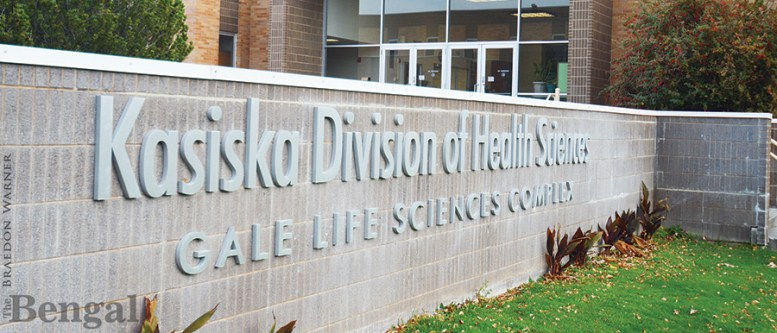 Kasiska Division of Health Sciences Gale Life Sciences Complex sign