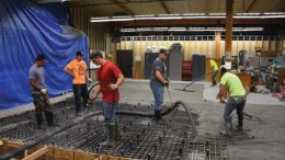 ISU Structural Lab construction
