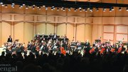 Zuill Bailey performs with the ISU symphony.