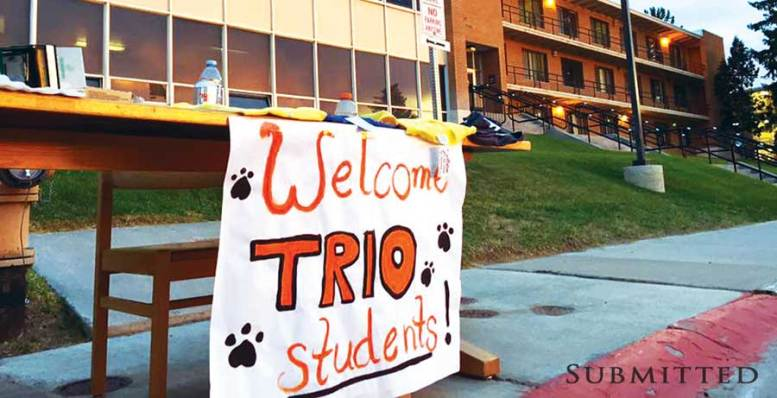 TRIO welcome banner