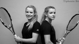 Tennis twins, Huibre-Mare Botes and Louise-Mare Botes