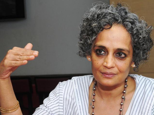 Arundhati Roy. Fotoğraf: K. Pichumani