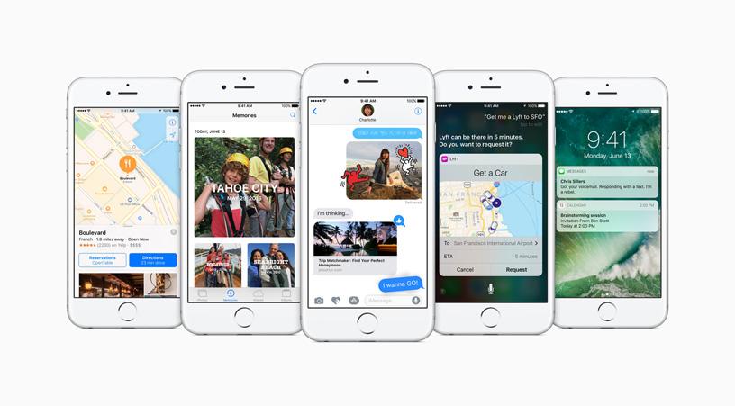Apple обновила ОС iOS до10-й версии