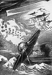 Amazing Stories luglio 1943 - Illustrazione interna