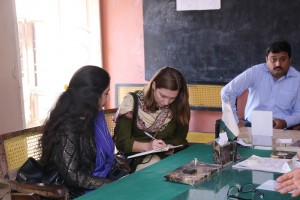 Ms Kate Anderson's Site Visit to Hyderabad