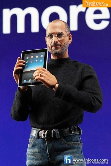 Apple action figure steve jobs