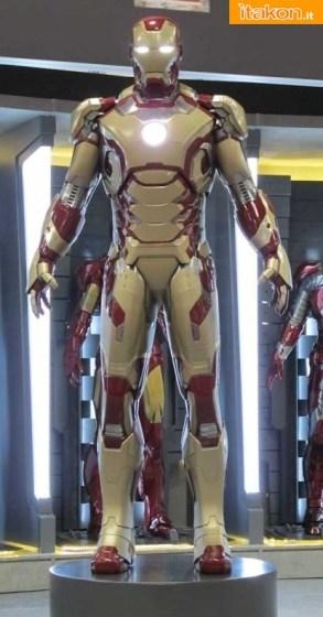 Finalmente svelata la nuova armatura di Iron Man 3