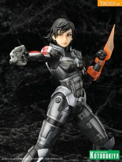 Command Shepard Bishoujo Exclusive Edition: aggiornamenti ufficiali da Kotobukiya