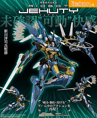 zone of the enders - jehuty - riobot - sentinel 10