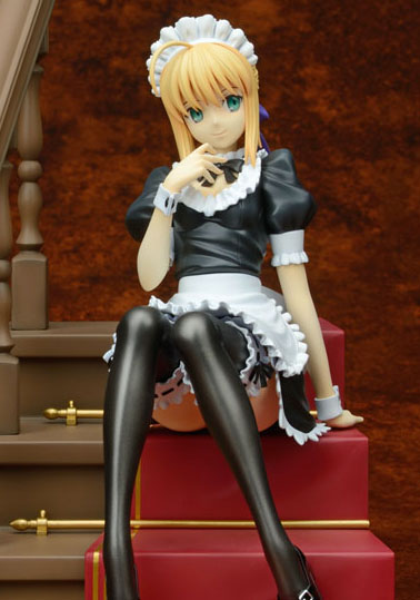 saber maid plum fate stay night hollow ataraxia 20