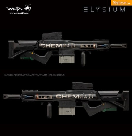 Dual Stage Linear Motor Rifle  Prop Replica  (5)