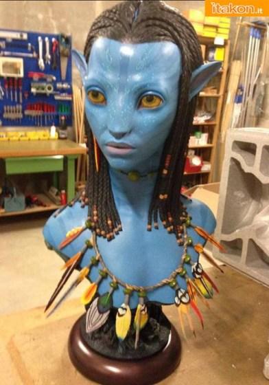 Avatar: Neytiri Life Size Bust - Prime foto live