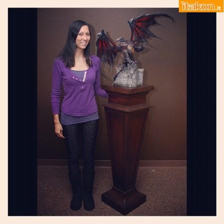 World of Warcraft: Nuova immagine di Deathwing statue di Sideshow