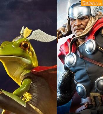 Sideshow: Thor Modern Age Premium Format e Thor Frog Diorama - Info Preordini