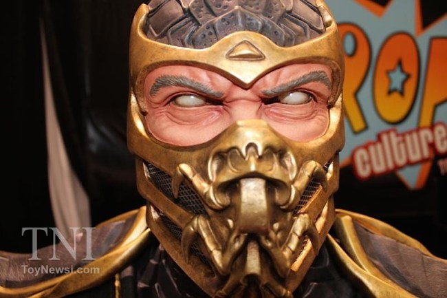 [Pop Culture Shock] Mortal Kombat 9 : Scorpion | Life Size bust - Página 2 B14