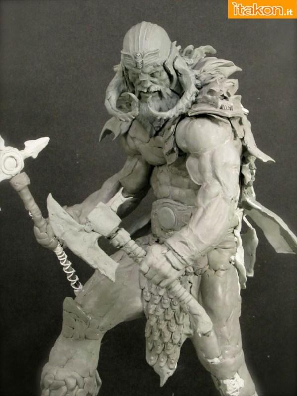 [ARH Studios] Original Art: The Viking 1/4 statue A29