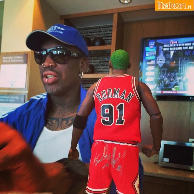 [Enterbay] NBA Legend Series: Dennis Rodman (Chicago Bulls) Aeee