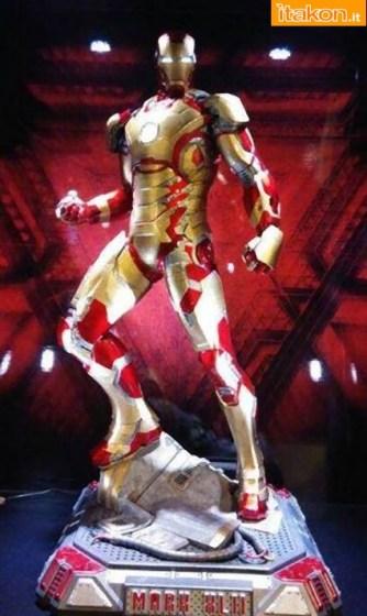 Imaginarium Art: Iron Man Mark XLII Replica Masterpiece 1/2 - Foto Live