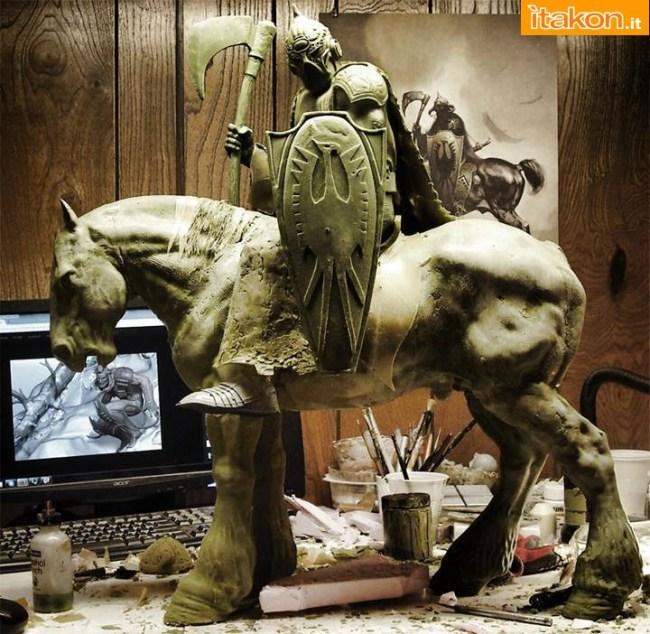 [ARH Studios] Frazetta: Death Dealer 1/4 statue W1
