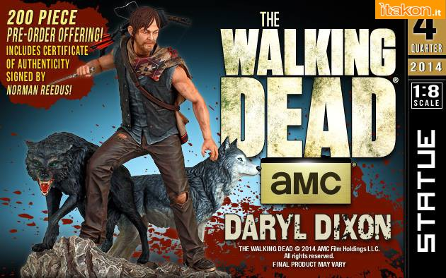 [Gentle Giant] TWD: Daryl and the Wolves Exclusive statue 10354133_677237009023674_5300623968191951691_n