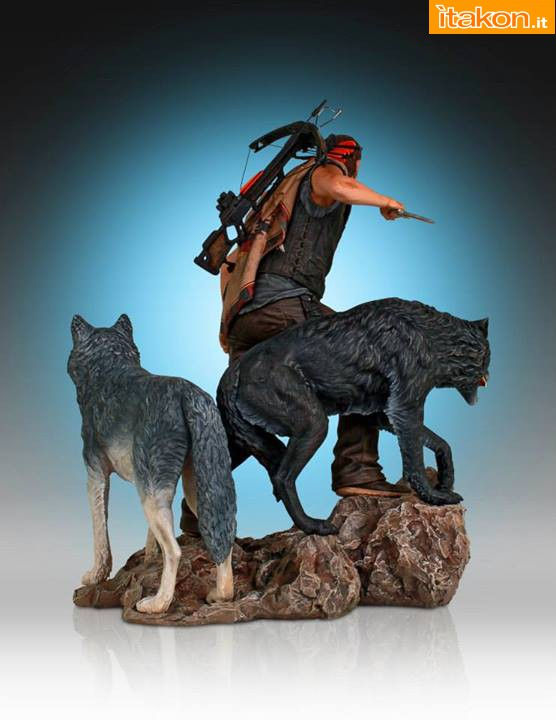 [Gentle Giant] TWD: Daryl and the Wolves Exclusive statue A112