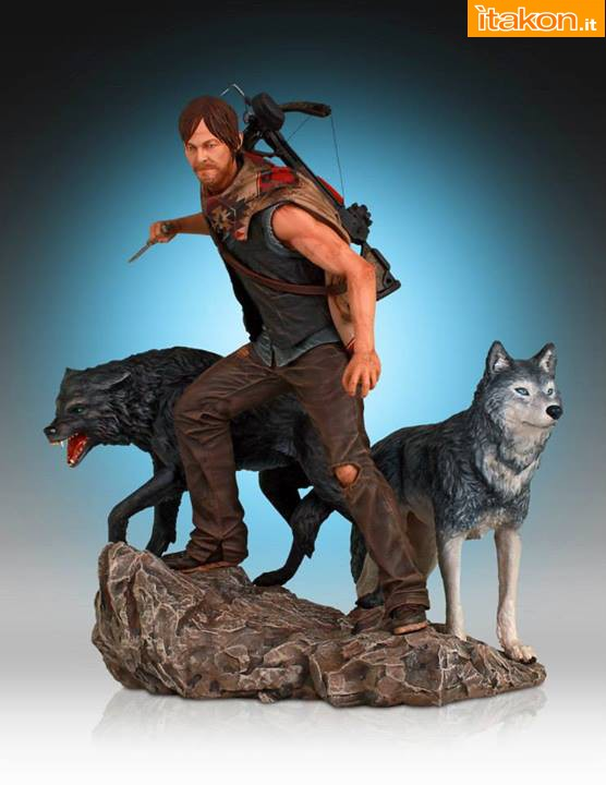 [Gentle Giant] TWD: Daryl and the Wolves Exclusive statue A18