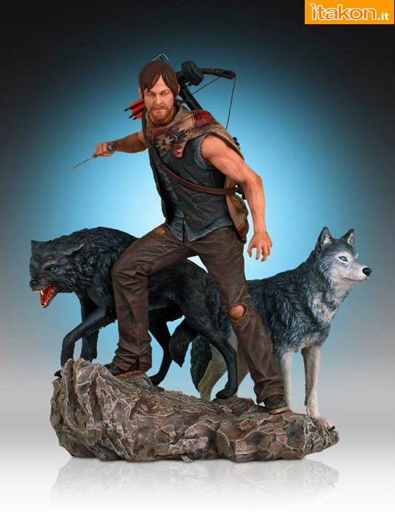 [Gentle Giant] TWD: Daryl and the Wolves Exclusive statue A82