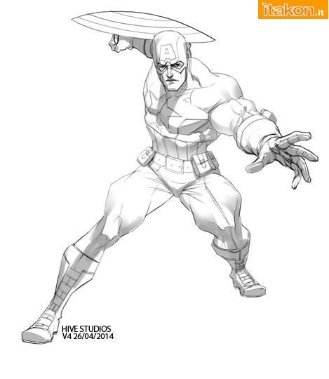 [XM Studios] HX Project - Avengers Assemble Statue   Captain America (1/6) 10561561_1404914013062627_8795098967521651197_n