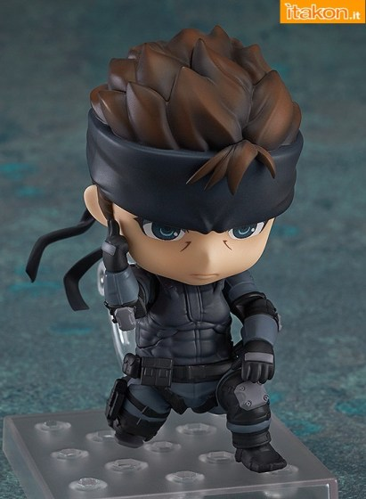 Solid Snake - MGS - Nendoroid - GSC - preordini - 4