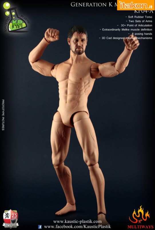 [Kaustic Plastik] Muscular Body KP04 Plastik 10174969_789531437777061_2462967073969693611_n