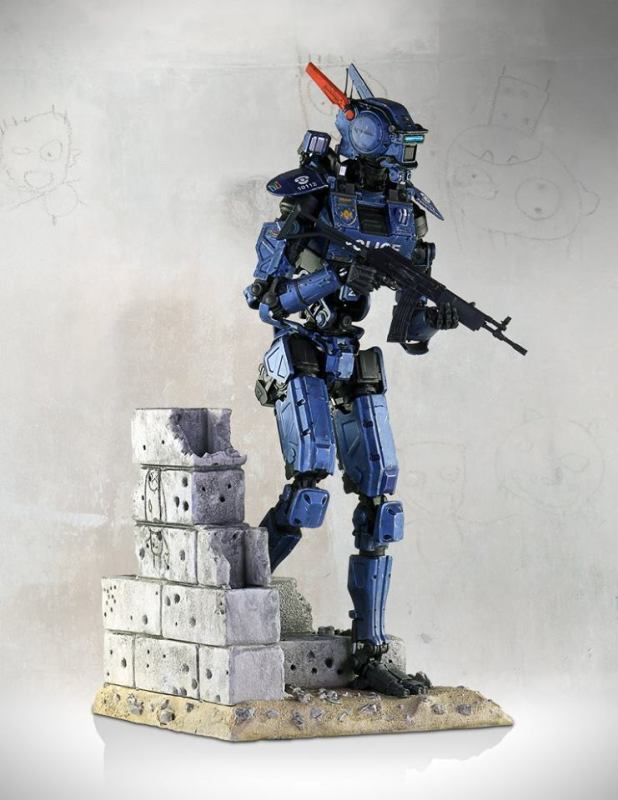 [Gentle Giant] Chappie: Scout 22 Statue - 1/4 scale 10299539_10152791704817695_5457616381602653037_n