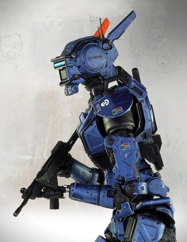 [Gentle Giant] Chappie: Scout 22 Statue - 1/4 scale 10408668_10152791704827695_1892235516048310398_n