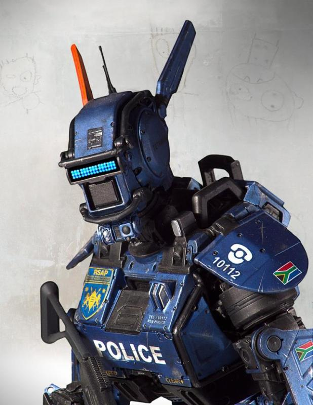 [Gentle Giant] Chappie: Scout 22 Statue - 1/4 scale 11043086_10152791704882695_1565216884721390620_n