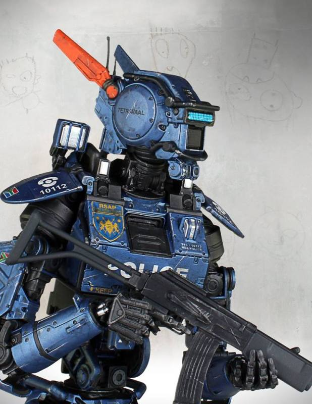 [Gentle Giant] Chappie: Scout 22 Statue - 1/4 scale 1484676_10152791704887695_1757255094585091733_n
